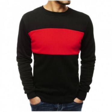 Džemperis (Bluza męska czarna BX4458