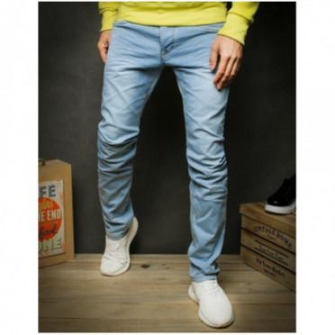 Kelnės (Spodnie jeansowe męskie niebieskie UX2425