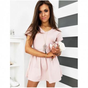 Suknelė (Sukienka ESTELLINO różowa EY1145