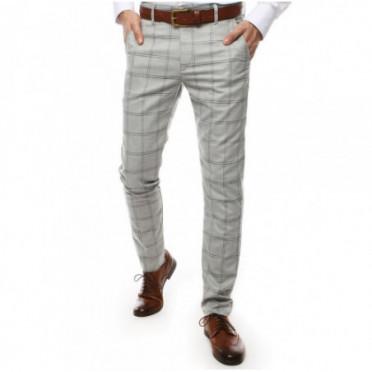 Kelnės (Spodnie męskie jasnoszare UX2444