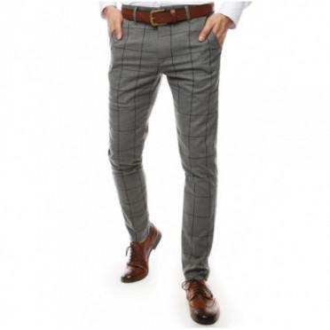 Kelnės (Spodnie męskie ciemnoszare UX2449