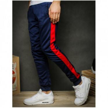 Kelnės (Spodnie męskie dresowe granatowe UX2290